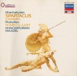 KHATCHATURIAN - Maazel - Spartacus : extraits