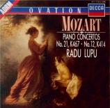 MOZART - Lupu - Concerto pour piano et orchestre n°21 en do majeur K.467