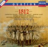 TCHAIKOVSKY - Dorati - Ouverture pour orchestre en mi bémol majeur op.49