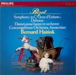 BIZET - Haitink - Symphonie pour orchestre en ut majeur (1855) WD.33