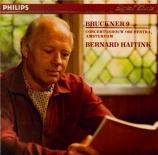 BRUCKNER - Haitink - Symphonie n°9 en ré mineur WAB 109