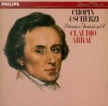 CHOPIN - Arrau - Scherzo pour piano n°1 en si mineur op.20
