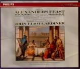 HAENDEL - Gardiner - Alexander's feast, masque HWV.75