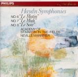 HAYDN - Marriner - Symphonie n°6 en ré majeur Hob.I:6 'Le matin'