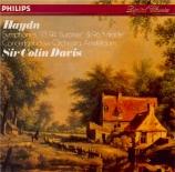 HAYDN - Davis - Symphonie n°93 en ré majeur Hob.I:93