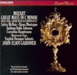 MOZART - Gardiner - Messe en ut mineur, pour solistes, choeur et orchestr