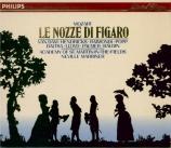 MOZART - Marriner - Le nozze di Figaro (Les noces de Figaro), opéra bouf