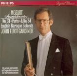MOZART - Gardiner - Symphonie n°31 en ré majeur K.297 (K6.300a) 'Paris'