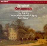 SCHUBERT - Masur - Rosamunde, Fürstin von Cypern, musique de scène pour