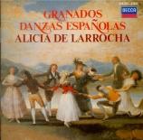 GRANADOS - De Larrocha - Douze danses espagnoles pour piano op.37