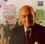 HAYDN - Solti - Symphonie n°94 en do majeur Hob.I:94 'Surprise'