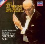 LISZT - Solti - Les préludes, poème symphonique pour orchestre n°3 S.97