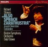 STRAUSS - Ozawa - Also sprach Zarathustra, poème symphonique pour grand