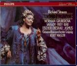 STRAUSS - Masur - Ariadne auf Naxos (Ariane à Naxos), opéra op.60