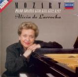 MOZART - De Larrocha - Sonate pour piano n°10 en do majeur K.330 (K6.300
