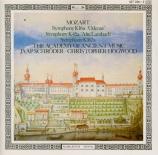 MOZART - Hogwood - Symphonie en mi bémol majeur K.16