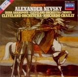 PROKOFIEV - Chailly - Alexander Nevsky, cantate pour soliste, chœur mixt