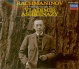 RACHMANINOV - Ashkenazy - Dix préludes pour piano op.23