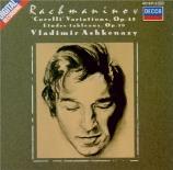 RACHMANINOV - Ashkenazy - Vingt variations pour piano en ré mineur sur u