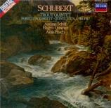 SCHUBERT - Schiff - Quintette avec piano en la majeur op.posth.114 D.667