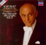 SCHUBERT - Solti - Symphonie n°8 en si mineur D.759 'Inachevée'