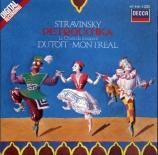 STRAVINSKY - Dutoit - Petrouchka, ballet burlesque pour orchestre en 4 t