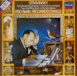 STRAVINSKY - Chailly - Symphonie de psaumes, pour chœur et orchestre