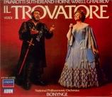 VERDI - Bonynge - Il trovatore, opéra en quatre actes (version originale
