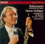 TELEMANN - Holliger - Concerto pour hautbois, cordes et basse continue