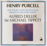 PURCELL - Tippett - Hail, bright Cecilia!, ode à Ste Cécile Z.328
