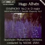 ALFVEN - Järvi - Symphonie n°2 op.11