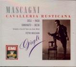 MASCAGNI - Mascagni - Cavalleria rusticana