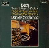 BACH - Chorzempa - Toccata et fugue pour orgue en ré mineur BWV.565 (att