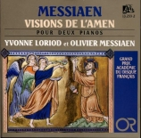 MESSIAEN - Loriod - Visions de l'amen