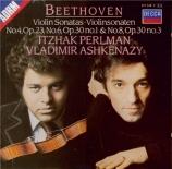 BEETHOVEN - Perlman - Sonate pour violon et piano n°4 op.23