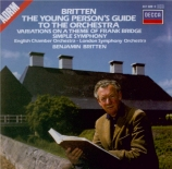 BRITTEN - Britten - The young person's guide to the orchestra, pour (nar