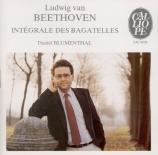 BEETHOVEN - Blumenthal - Sept bagatelles pour piano op.33