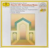 MOZART - Abbado - Missa solemnis en do mineur, pour solistes, choeur et o