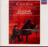 CHOPIN - Ashkenazy - Ballade pour piano n°1 en sol mineur op.23 n°1