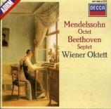MENDELSSOHN-BARTHOLDY - Wiener Oktett - Octuor pour cordes en mi bémol m