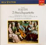 HAYDN - Quartetto Ester - Quatuor à cordes n°32 en do majeur op.20 n°2 H