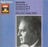MAHLER - Walter - Symphonie n°9
