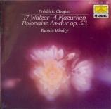 CHOPIN - Vasary - Grande valse brillante n°1 , pour pianoen mi bémol ma