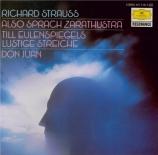 STRAUSS - Steinberg - Also sprach Zarathustra, poème symphonique pour gr