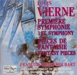 VIERNE - Houbart - Symphonie pour orgue n°1 en ré mineur op.14