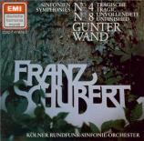 SCHUBERT - Wand - Symphonie n°4 en do mineur D.417
