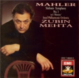 MAHLER - Mehta - Symphonie n°1 'Titan'