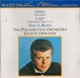 LISZT - Cliburn - Concerto pour piano et orchestre n°1 en mi bémol majeu