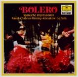 Boléro : Impression espagnoles