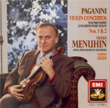 PAGANINI - Menuhin - Concerto pour violon n°1 en ré majeur op.6 M.S.21